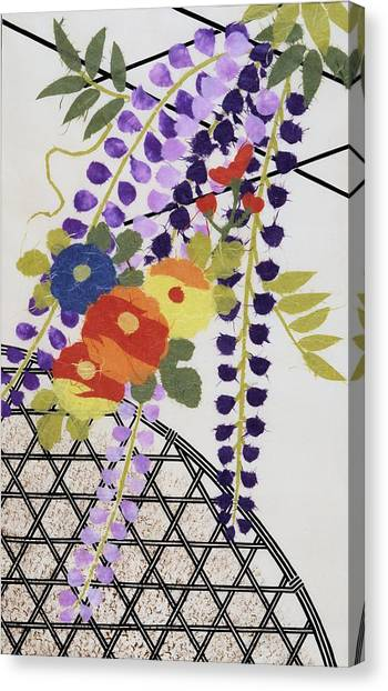 Blossom Canvas Print - Japanese Modern Interior Art #49 by ArtMarketJapan
