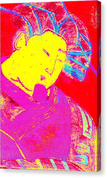 Japanese Pop Art Print 9 Canvas Print