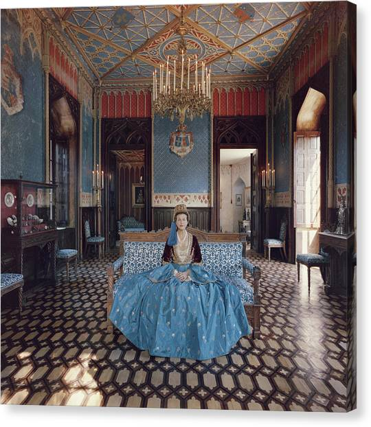 Jean Serpieri Canvas Print by Slim Aarons