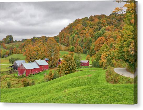 Canvas Print featuring the photograph Jenne Farm by Juergen Roth