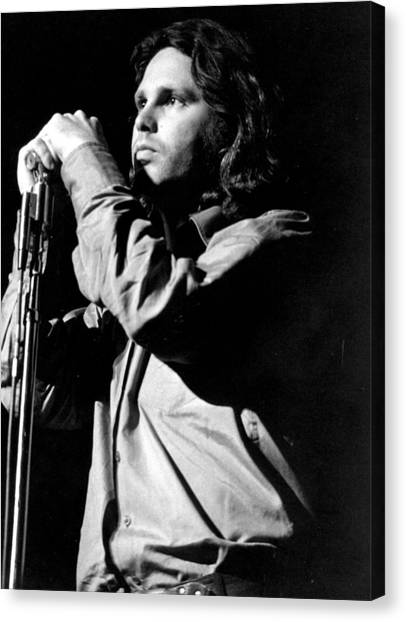 Jim Morrison Canvas Print by Tom Copi