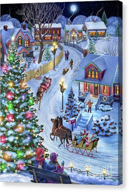 Jingle All The Way Canvas Print