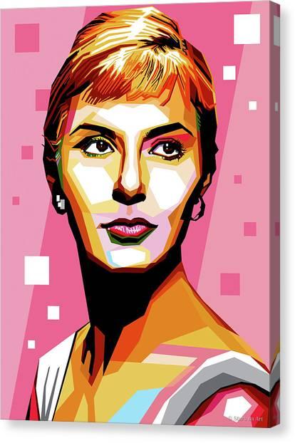 Joanne Woodward Canvas Print