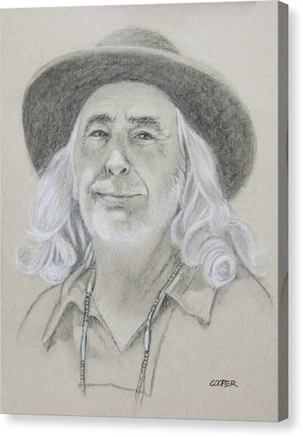 John West Canvas Print