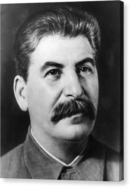 Joseph Stalin Canvas Print by Fox Photos