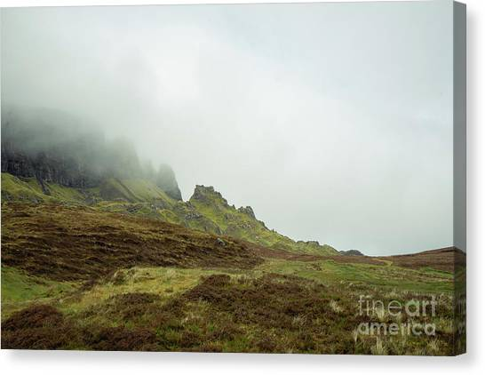 Journey To The Quiraing Canvas Print