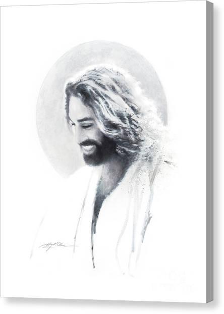 Christian Canvas Print - Joy Of The Lord Vignette by Greg Olsen