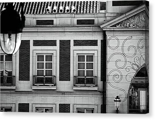 Canvas Print - Julie's Photo Monochrome-124 by Julie