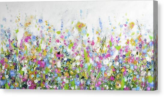 June Bloom Canvas Print
