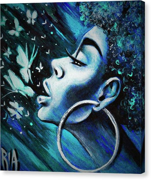 Canvas Print - Just Breathe by Artist RiA