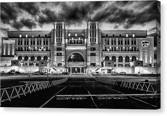 Kansas State Football Canvas Print by JC Findley