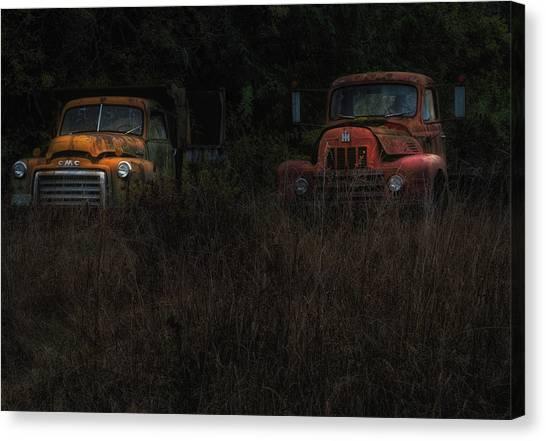 Karly's Trucks Canvas Print