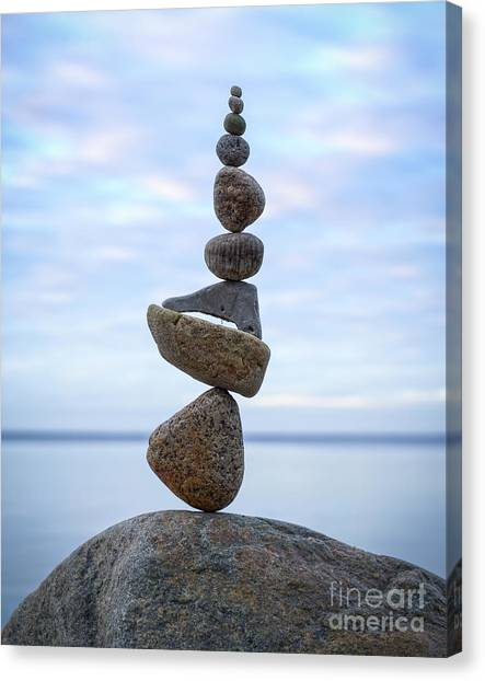 Keep The Balance Canvas Print