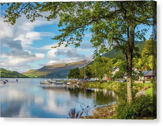 Kenmore And Loch Tay, Perthshire Canvas Print by David Ross