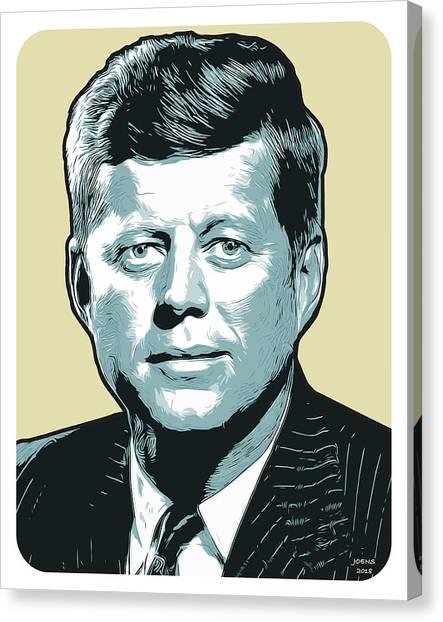 Political Canvas Print - Kennedy 31oct18 by Greg Joens