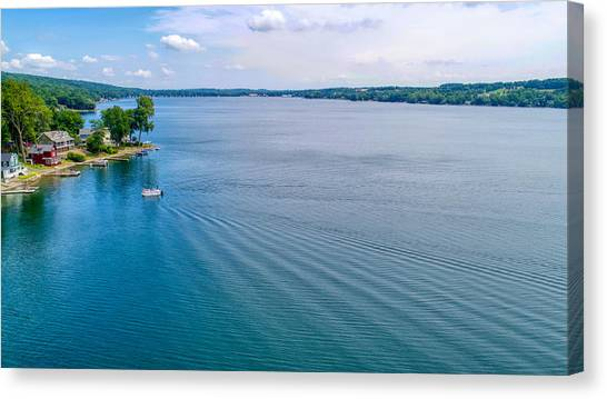 Keuka Days Canvas Print