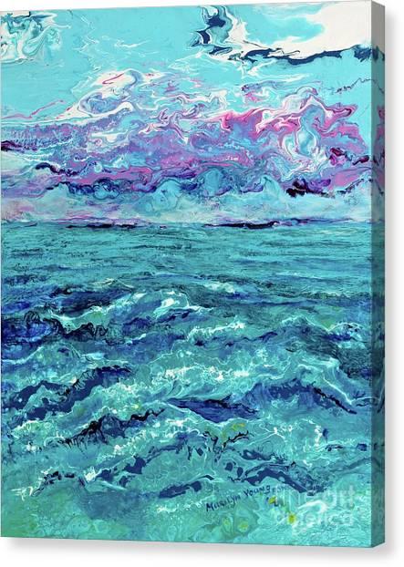 Keys Seascape Canvas Print