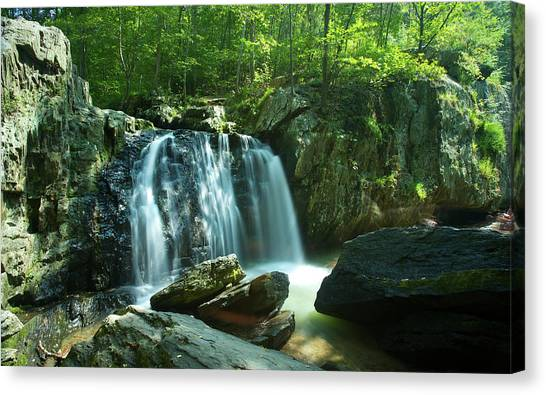 Kilgore Falls In Summer Canvas Print