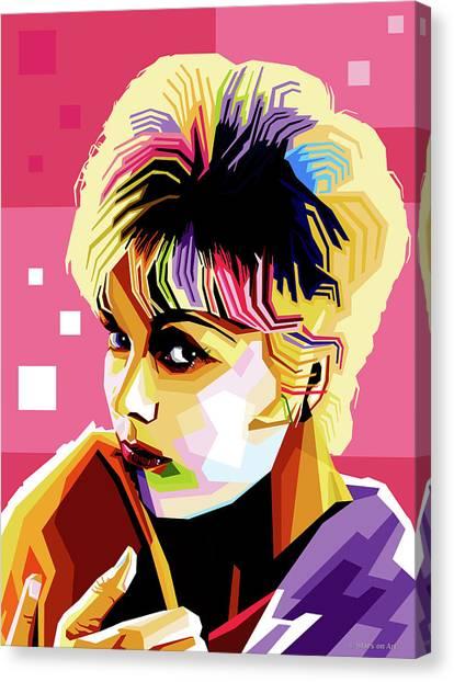 Kim Novak Canvas Print