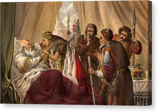 King Lear Canvas Print by Hulton Archive