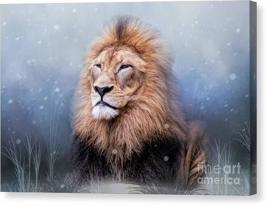 King Winter Canvas Print