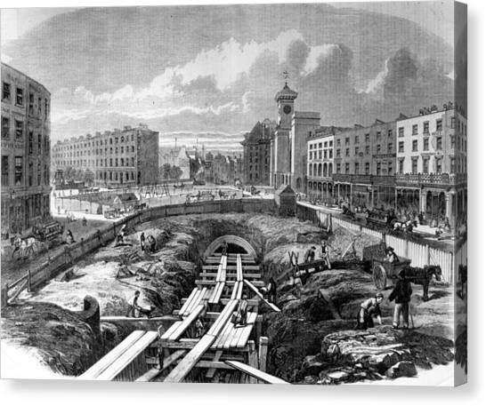 Kings Cross Station Canvas Print by Hulton Archive