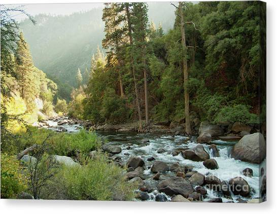 Kings River 1-7824 Canvas Print by Stephen Parker