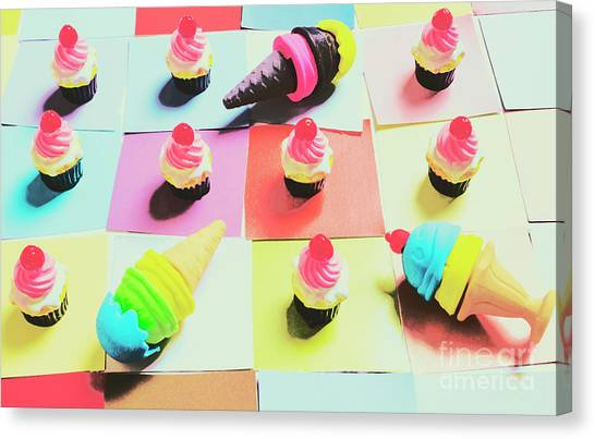 Cakes Canvas Print - Kitchen Chess by Jorgo Photography - Wall Art Gallery