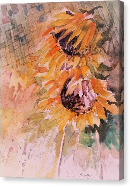 Canvas Print - Kitchen Sunflowers by Mindy Newman