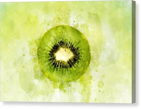 Kiwis Canvas Print - Kiwi Fruit by ArtMarketJapan