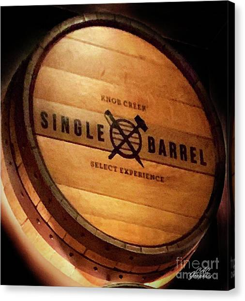 Knob Creek Barrel Canvas Print
