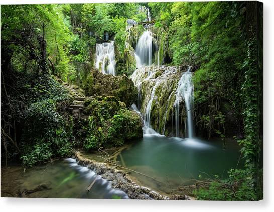 Krushunski Waterfalls Canvas Print