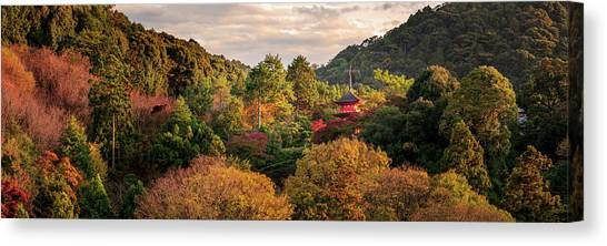 Higashiyama, Kyoto Canvas Print