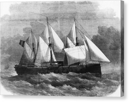 La Gloire Canvas Print by Hulton Archive