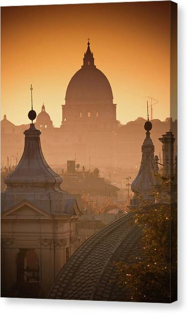 La Grande Bellezza Canvas Print by Graziano