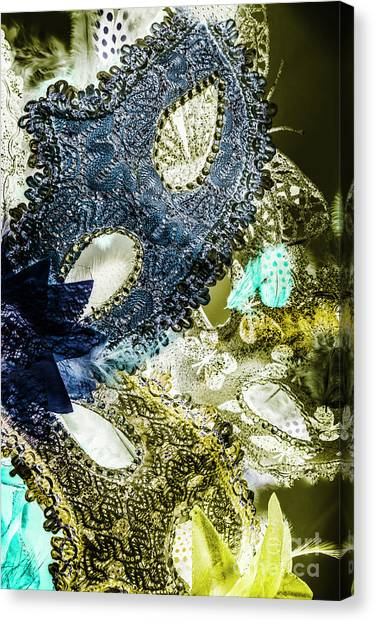 Masquerade Canvas Print - Lacy Luxury  by Jorgo Photography - Wall Art Gallery
