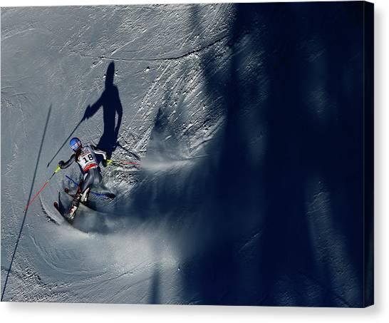 Ladies Slalom Canvas Print
