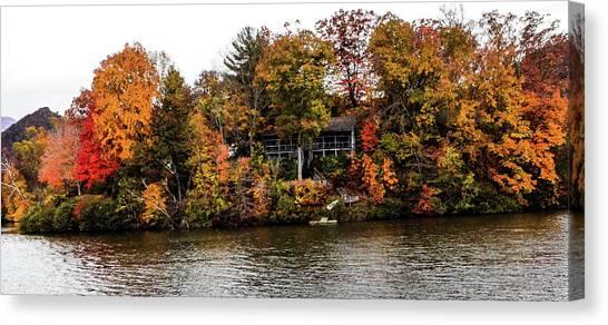 Lake Colors Canvas Print