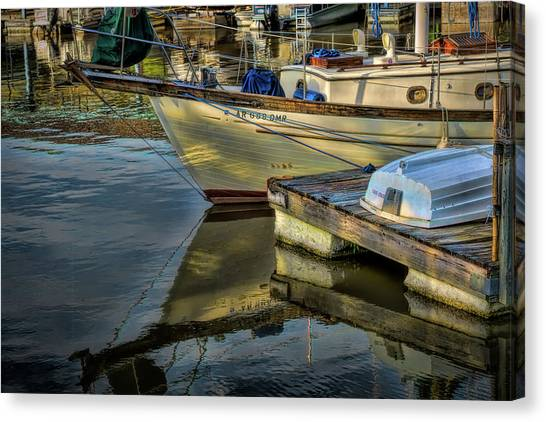 Lake Dardanelle Marina Canvas Print