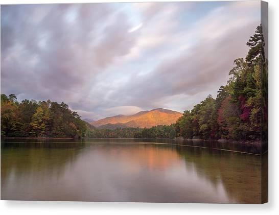 Lake Santeetlah Sunrise Canvas Print