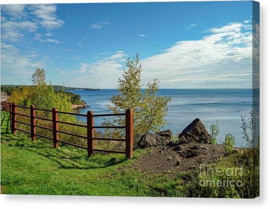 Lake Superior Overlook Canvas Print