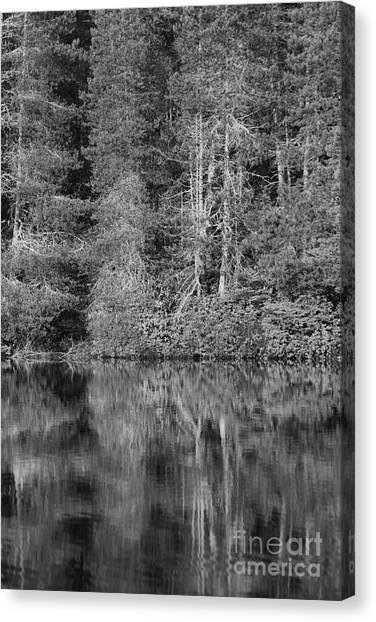 Canvas Print featuring the photograph Lakeside Bliss by Jeni Gray
