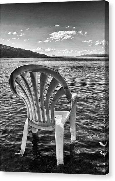 Lakeside Waiting Room Canvas Print