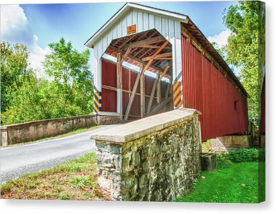 Lancaster Covered Bridge Canvas Print