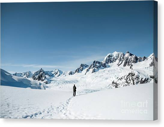 Fox Glacier Canvas Print - Land Of Wonders by Evelina Kremsdorf