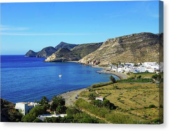 Las Negras Canvas Print by Digby Merry