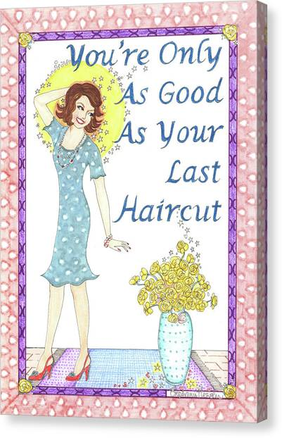 Last Haircut Canvas Print