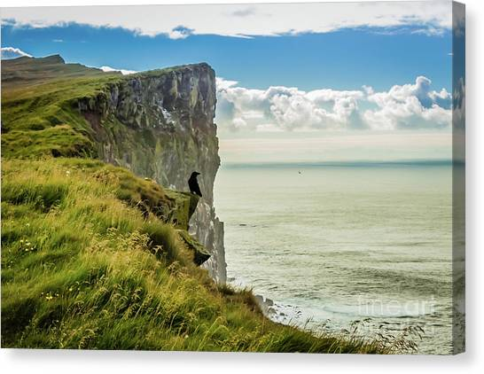Latrabjarg Cliffs, Iceland Canvas Print