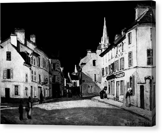 Layered 7 Sisley Canvas Print