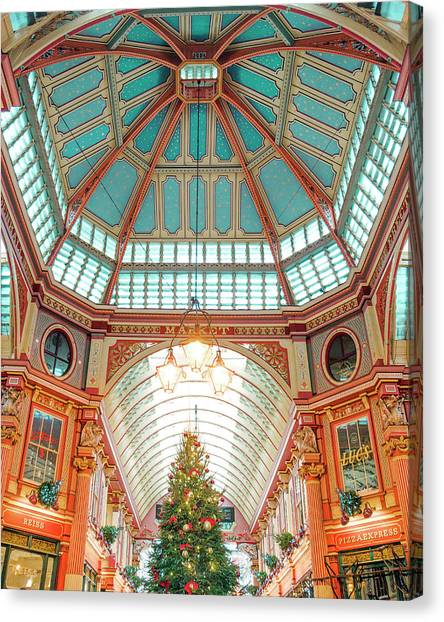 Leadenhall Market Canvas Print
